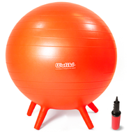 """Chair Ball for Kids: Small, Orange 18"""""""