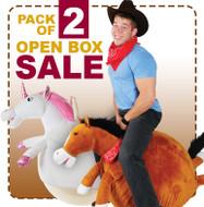 Open Box: Adult Size Hop Balls 2 Pack