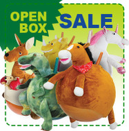 Open Box: Child Size Hop Ball 2 Pack