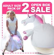 Open Box: Adult Size Unicorn Ball 2 Pack