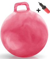Hippity Hop Ball Adult Size (hurricane pink)