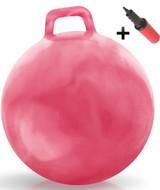 Hippity Hop Ball Adult Size (hurricane pink)