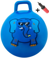 Hop Ball: Blue elephant (small)
