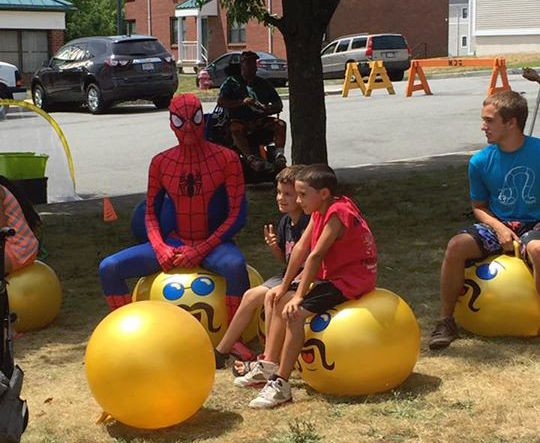 Inflatable Jump Balance Ball for Kids Socker Boppers Hippity Hopper Ball