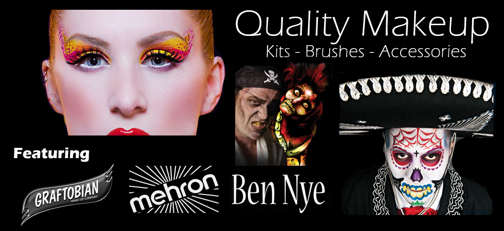 Fantasy Costumes Chicago is one of the largest providers of professional quality makeup and special effects accessories in the Chicagoland area. Premium brands like Ben Nye, Mehron and Graftobian.