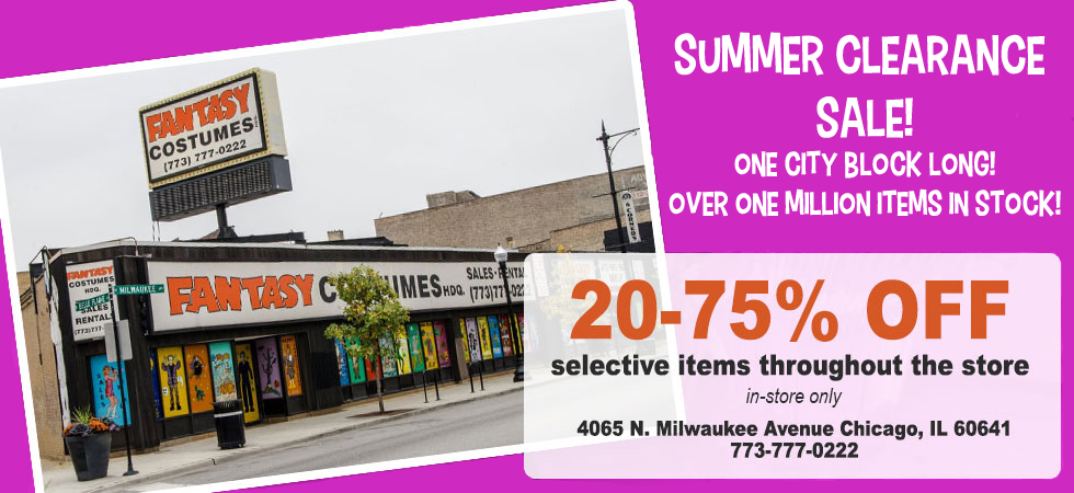 Chicago's Costume Store Since 1965 | Fantasy Costumes