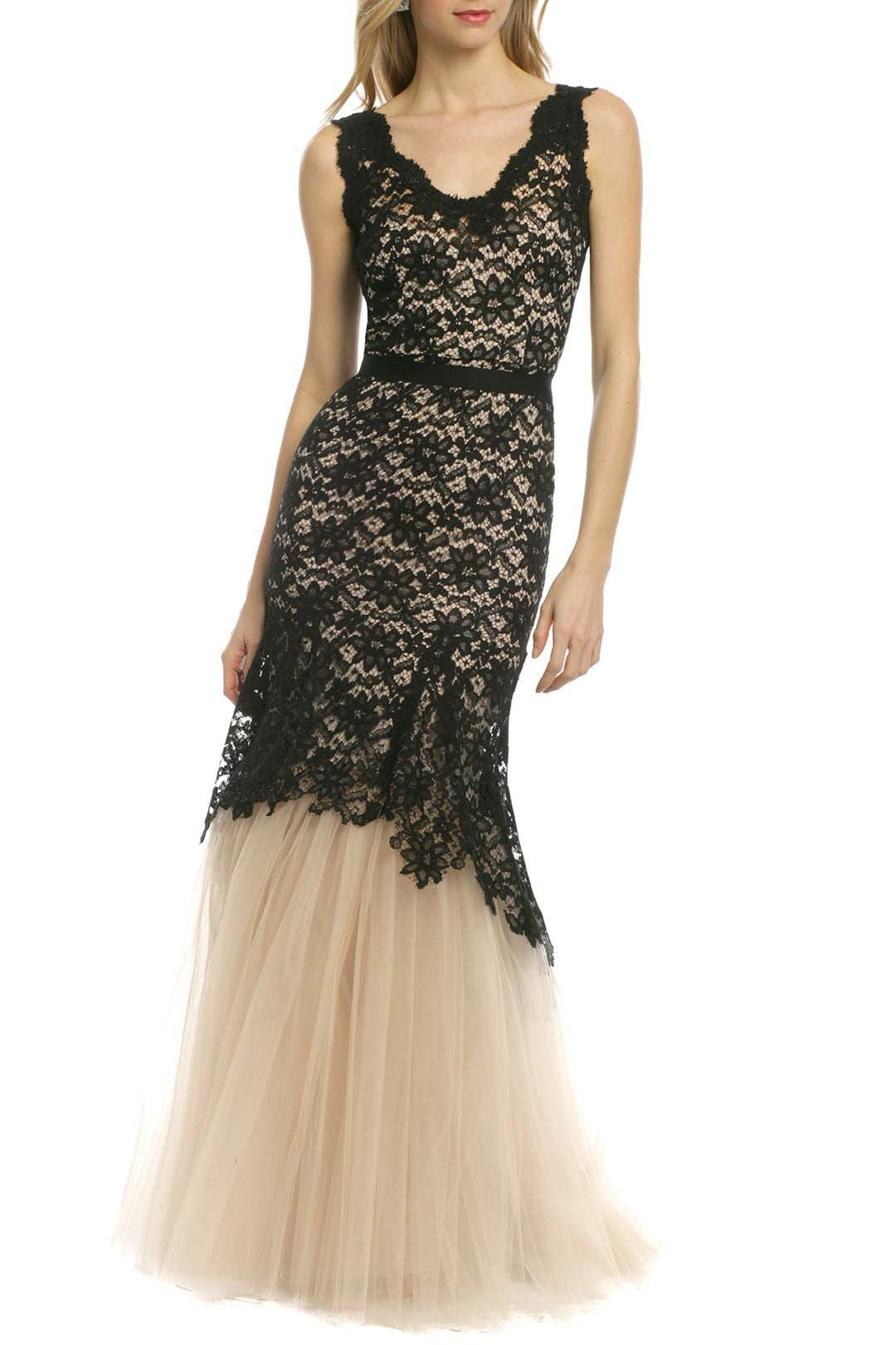 rent the runway nha khanh noir timeless love ball gown