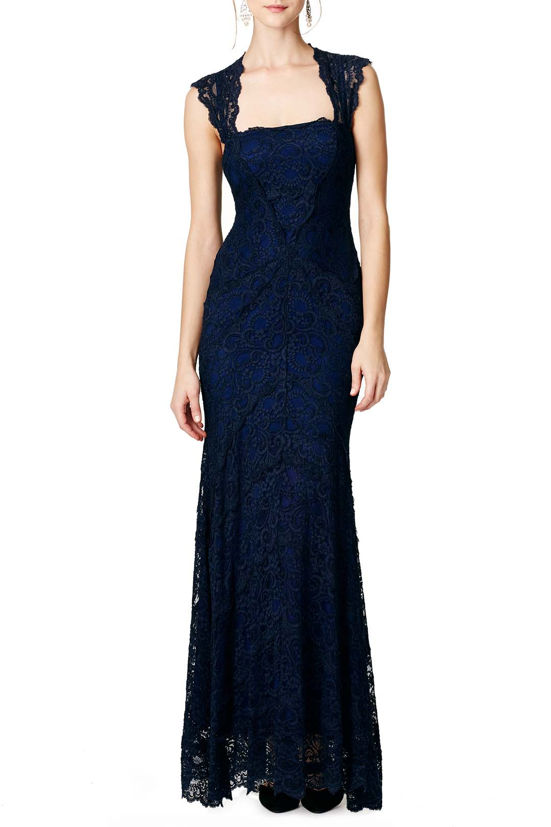 rent the runway nicole miller lady in waiting ball gown