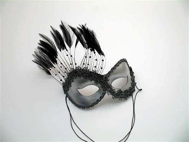 Black and White Masquerade Attire