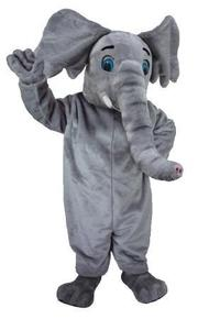 Animal costume for rent including the elephant costume shown here