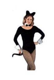 Women's cat outfit, sexy leotard