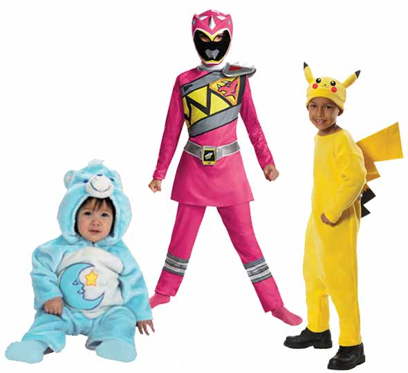 Fantasy Costumes Chicago selection of Halloween costumes for children
