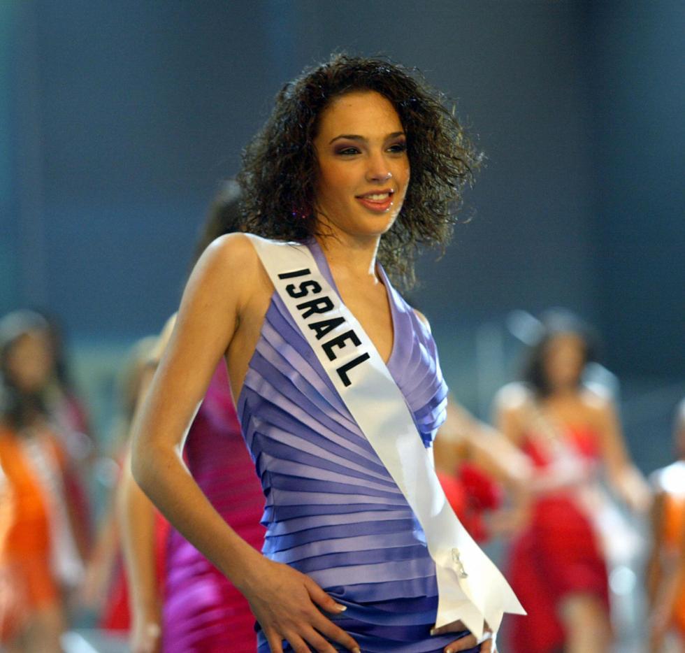 Gal Gadot as Miss Israel 2004