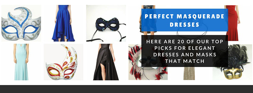 20 Masquerade Dresses You Can Rent Masks That Match