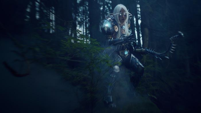 Night Elf Hunter - Oshley Cosplay