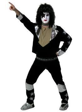 KISS costume, rock and roll band costume rental image