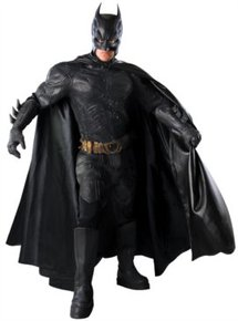 Professional Batman costume rentals in our superhero collection