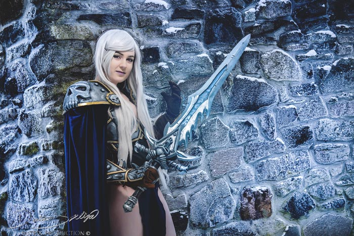 The Lich King - Lady Arthas Cosplay