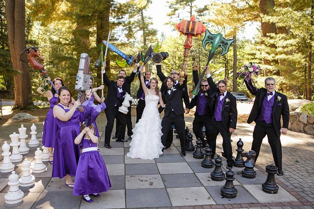 World of Warcraft Themed Wedding - Jen & Nick from New Hampshire