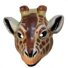 GIRAFFE ANIMAL MASK PLASTIC