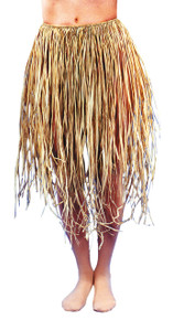 Grass Skirt Natural Raffia Standard