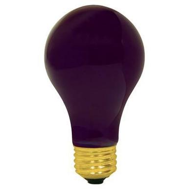 BLACK LIGHT BULB 75 WATT