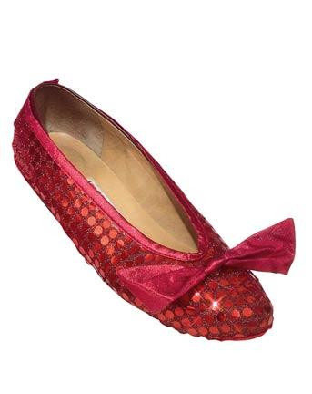 DOROTHY SHOE COVERS SEQUIN ADULT
