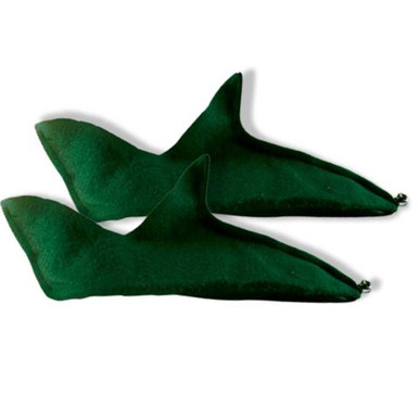 ELF SHOES FELT GREEN