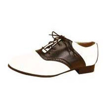 Shoes Saddle Black & White Women's