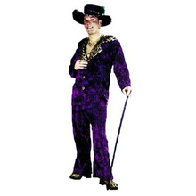 Velvet Big Daddy Pimp Adult Costume