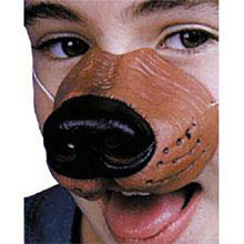 Dog/Bear Rubber Nose W/ Band