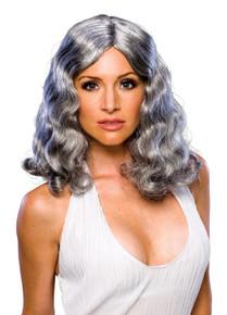 Wig Flowing Grey