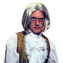 Wig Pageboy White