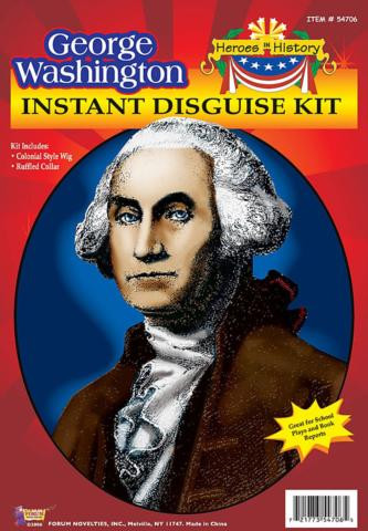 GEORGE WASHINGTON CHARACTER KIT