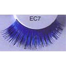 EYELASHES BLUE W/ GOLD