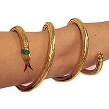 Cleopatra Snake Armband