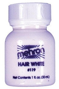HAIR WHITE MAKEUP 1OZ.-MEHRON