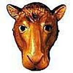 Plastic Camel Mask