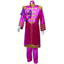 60's Nehru Tuxedo Adult Costume Pink
