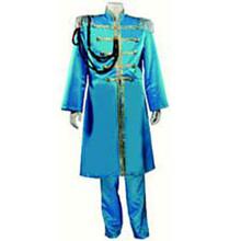 60's Nehru Tuxedo Adult Costume Blue