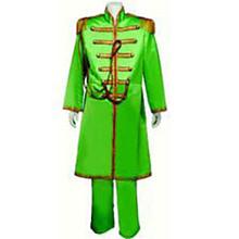 60's Nehru Tuxedo Adult Costume Green