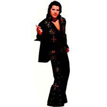 Elvis Rhinestone Jumpsuit Adult