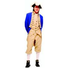 Colonial Men's Adult Costume Blue