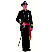 Union Officer Deluxe Adult Costume