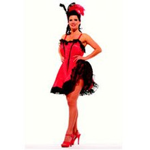 Saloon Girl Deluxe Adult Costume