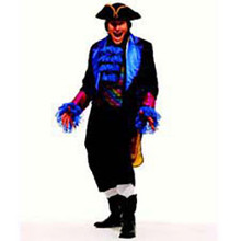 Mardi Gras Pirate Adult Costume