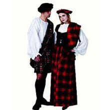 Highlander Kilt Costume Adult