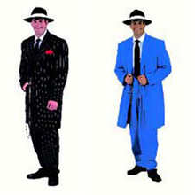 Deluxe Zoot Suit Adult Costume