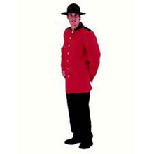 Mountie Costume Adult Deluxe