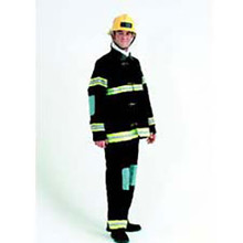 Fireman Deluxe Adult Costume